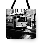 Ybor Street Car Tote Bag