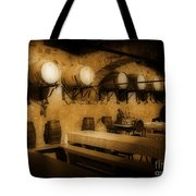 Ye Old Wine Cellar In Tuscany Tote Bag by John Malone