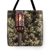 Ye Olde Street Lamp Tote Bag