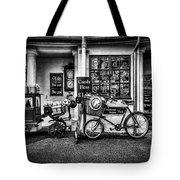 Ye Olde Sweet Shoppe Mono Tote Bag