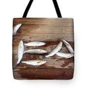 Yea It's Trout For Dinner Tote Bag