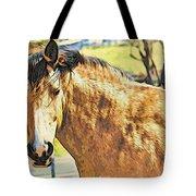 Yeller Horse Tote Bag