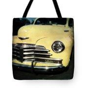 Yellow 47 Chevrolet Tote Bag