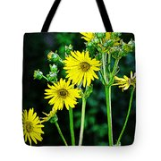 Yellow Achieve Tote Bag