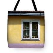Yellow And Pink Facade. Belgrade. Serbia Tote Bag