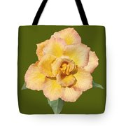 Yellow And Pink Rose Tote Bag