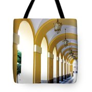 Yellow Arches Tote Bag