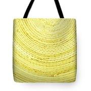 Yellow Arcs Tote Bag