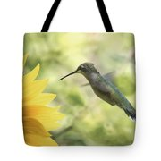 Yellow Attraction Tote Bag