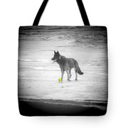 Yellow Ball Tote Bag