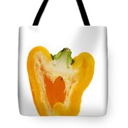 Yellow Bell Pepper Tote Bag