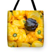 Yellow Bell Peppers Tote Bag