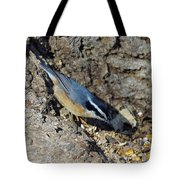 Yellow Bellied Nuthatch Tote Bag