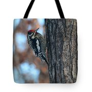 Yellow Bellied Sapsucker Tote Bag
