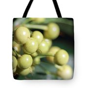 Yellow Berry Tote Bag