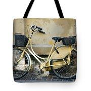 Yellow Bicycle In Copenhagen Tote Bag