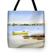Yellow Boat I Tote Bag