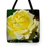 Yellow Bob Berry Rose Tote Bag