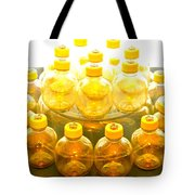 Yellow Bottle Tote Bag