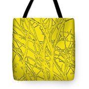 Yellow Branches Tote Bag