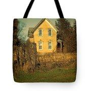 Yellow Brick Farmhouse Tote Bag