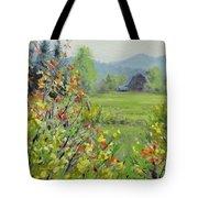 Yellow Broom Spring Tote Bag