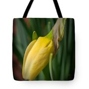 Yellow Bud Tote Bag