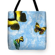 Yellow Butterflies - Spring Art By Sharon Cummings Tote Bag