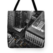 Yellow Cabs - Bird's Eye View Tote Bag
