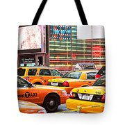 Yellow Cabs Tote Bag
