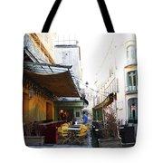 Yellow Cafe Arles France Tote Bag