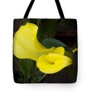Yellow Cala Tote Bag