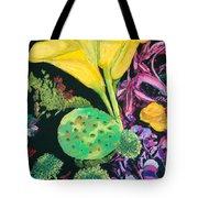 Yellow Cala Lilies Tote Bag
