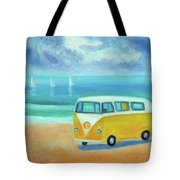 Yellow Camper Tote Bag