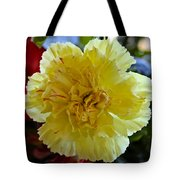 Yellow Carnation Delight Tote Bag