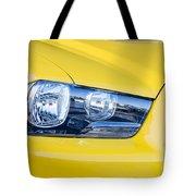 Yellow Charger 1520 Tote Bag