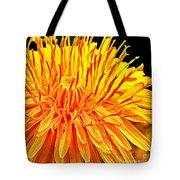 Yellow Chrysanthemum Painting Tote Bag