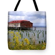 Yellow Columbia Tote Bag