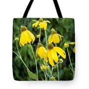 Yellow Cone Flowers Rudbeckia Tote Bag
