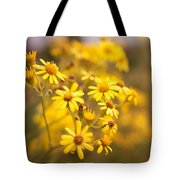 Yellow Countryside Tote Bag