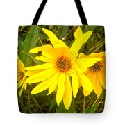 Yellow Daisies Tote Bag