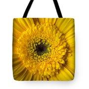 Yellow Daisy Close Up Tote Bag
