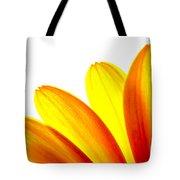 Yellow Daisy Petals Macro Tote Bag