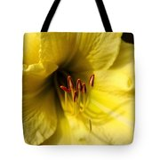 Grace Yellow Day Lily Art Tote Bag