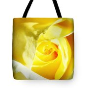 Yellow Diamond Rose Palm Springs Tote Bag