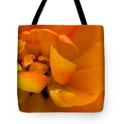 Yellow Double Tulip Tote Bag