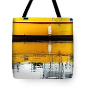 Yellow Drift Tote Bag