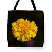 Yellow Fall Flower Tote Bag