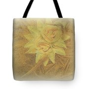 Yellow Fascinator With Feathers Tote Bag