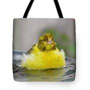 Yellow Finch Tote Bag